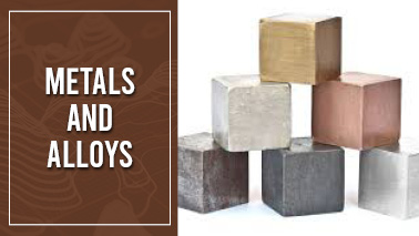Peers Alley Media: Metals and Alloys