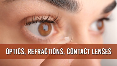 Peers Alley Media: Optics, Refractions, Contact Lenses
